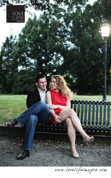 Alexandria engagement shoot