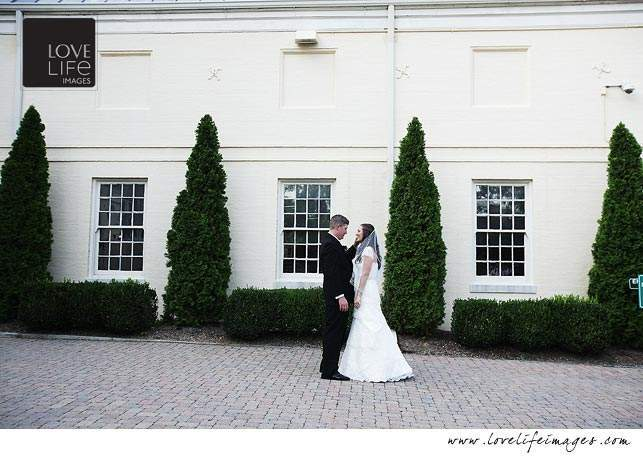 Evergreen House wedding