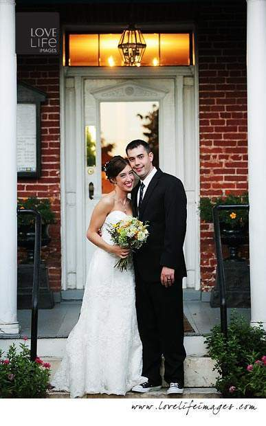 Elkridge Furnace Inn wedding