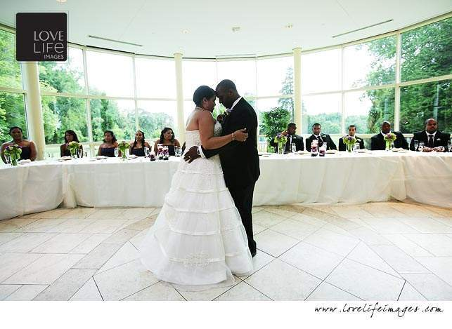 Newton White Mansion wedding
