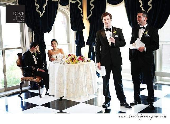 1840s Ballroom Baltimore wedding