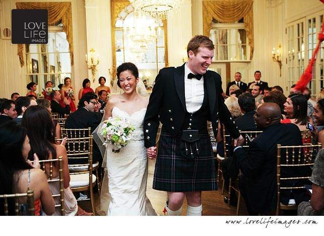 The Washington Club wedding