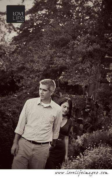 National Cathedral engagement shoot