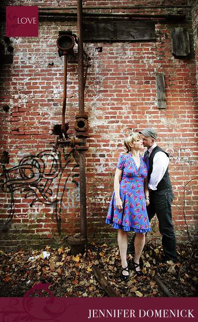 Steampunk engagement session