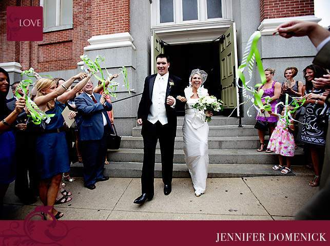 The Maryland Club wedding