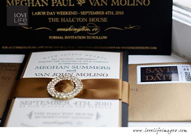 DC Wedding invitation