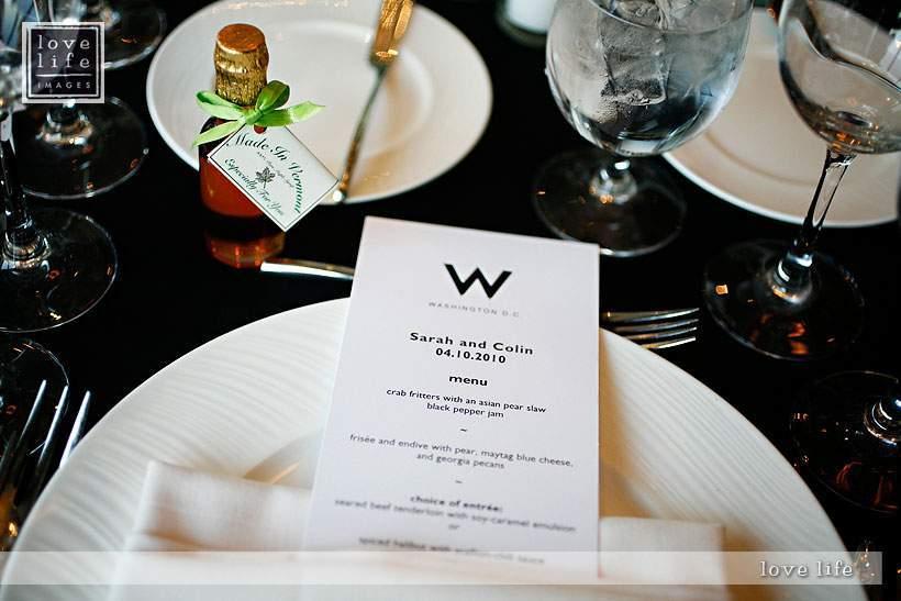W Hotel DC wedding
