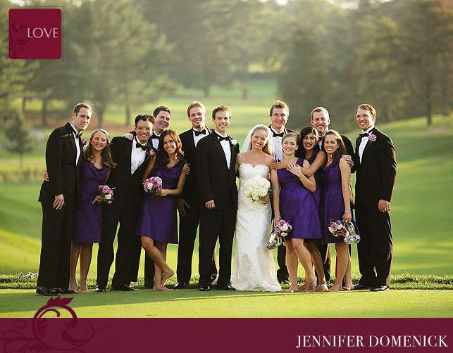 Congressional Country Club wedding