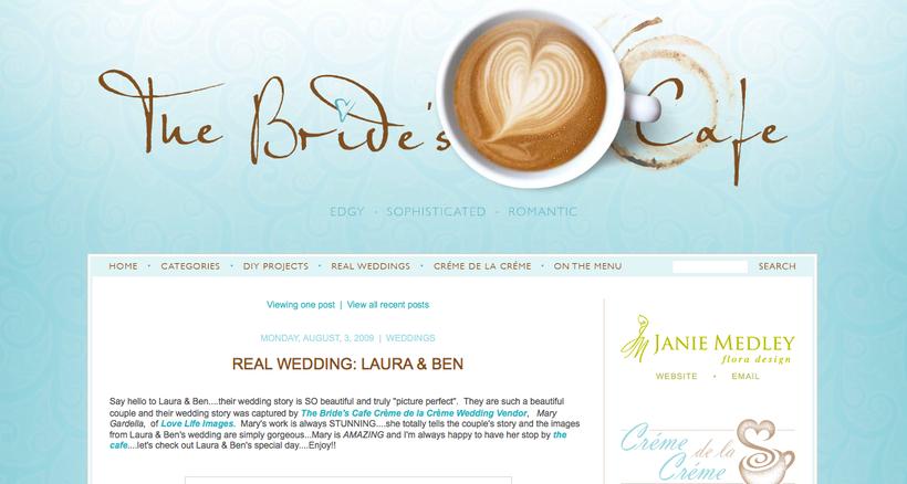 Bride's Cafe feature