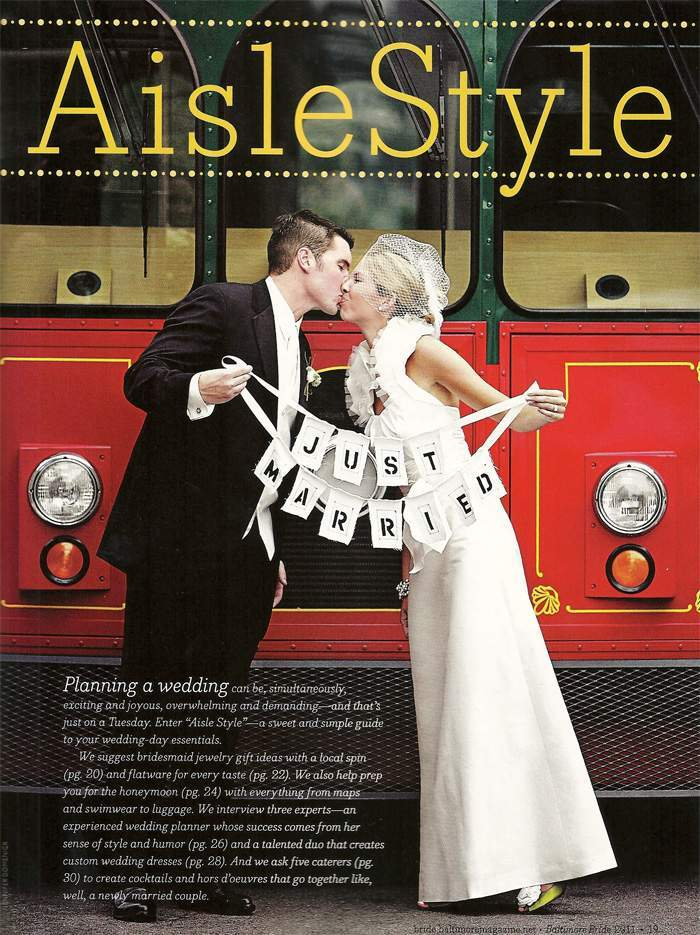 Baltimore Bride Magazine Feature