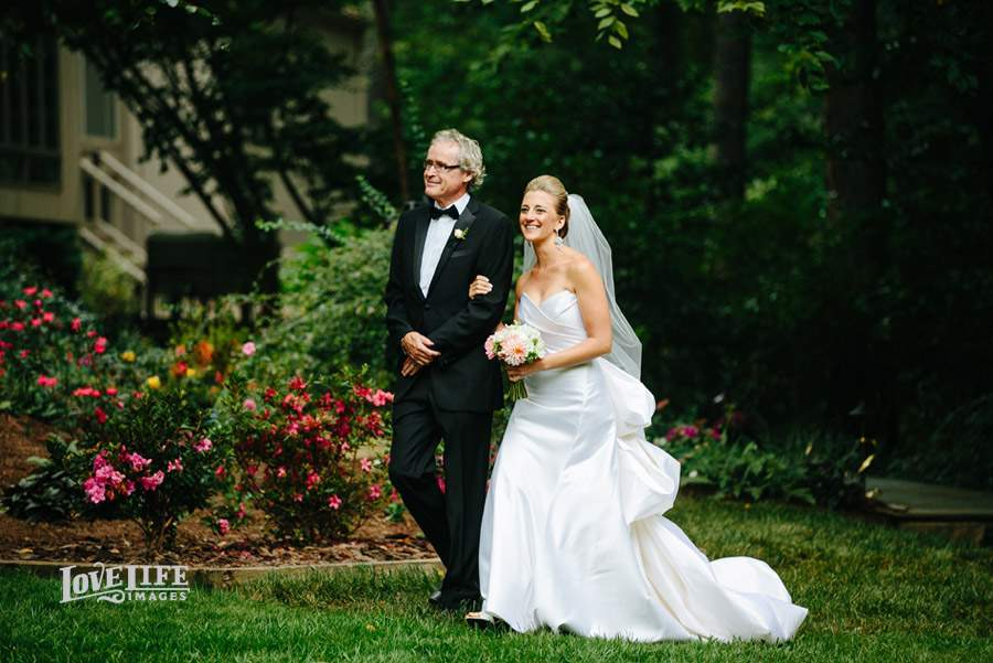 VA garden party wedding