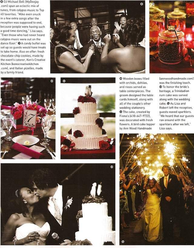 Brides Maryland Magazine feature