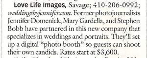 Washingtonian Magazine mention