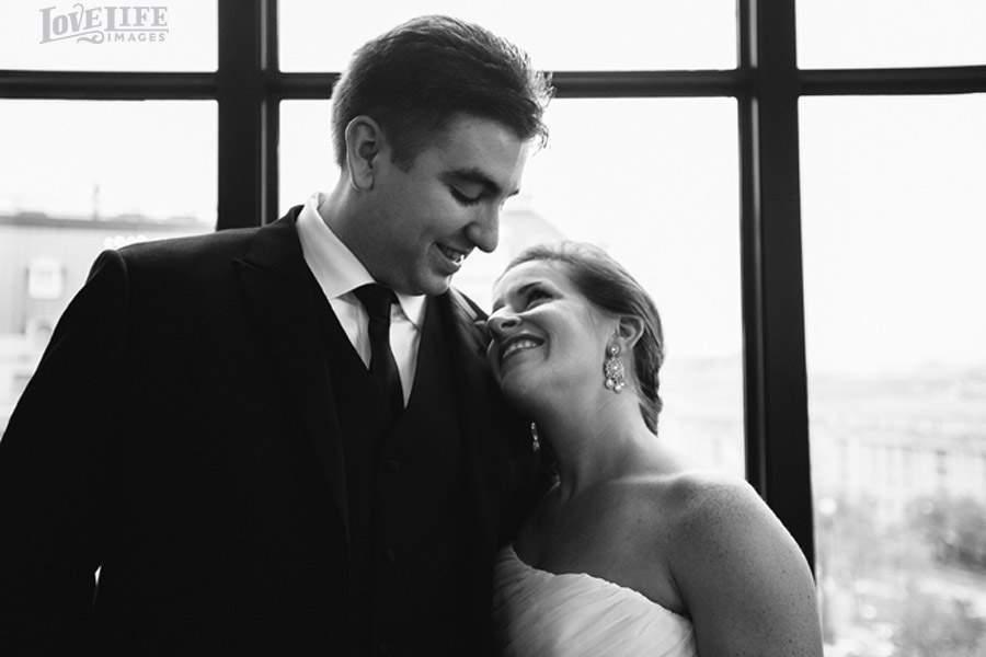 W Hotel wedding DC