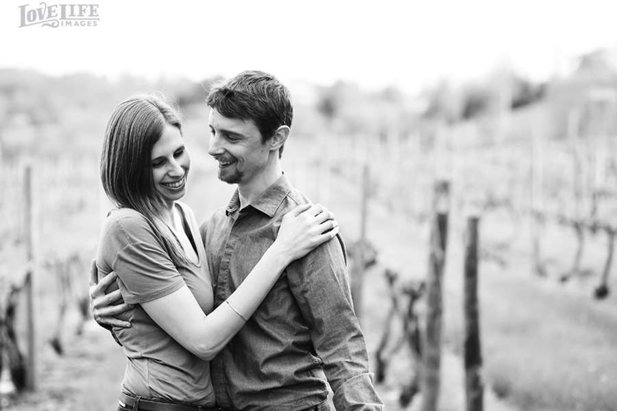 VA Winery Engagement Session