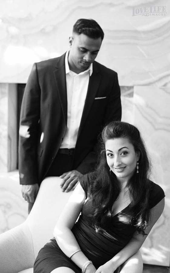 """Mad Men"" inspired DC engagement session"
