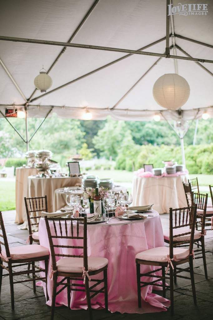 River Farm wedding reception