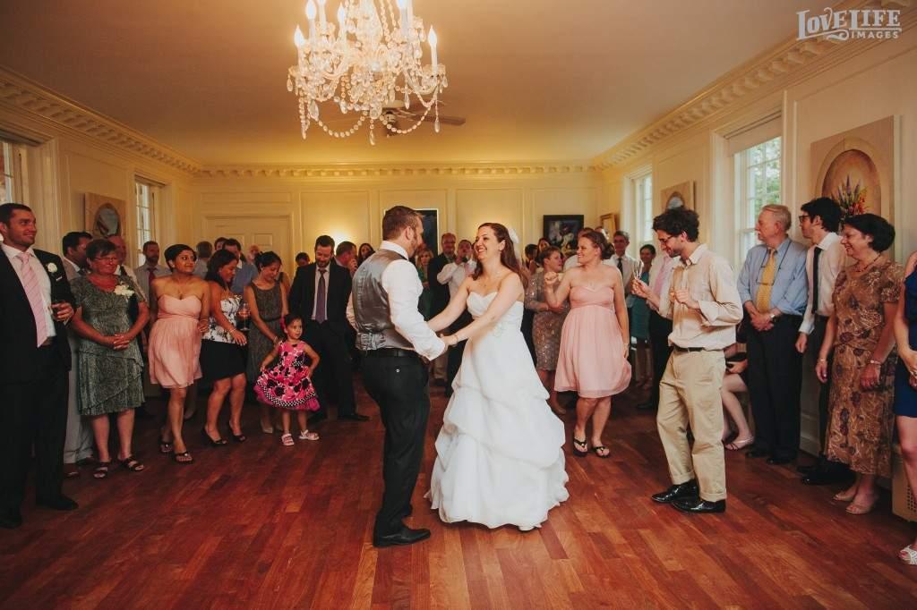 River Farm wedding reception
