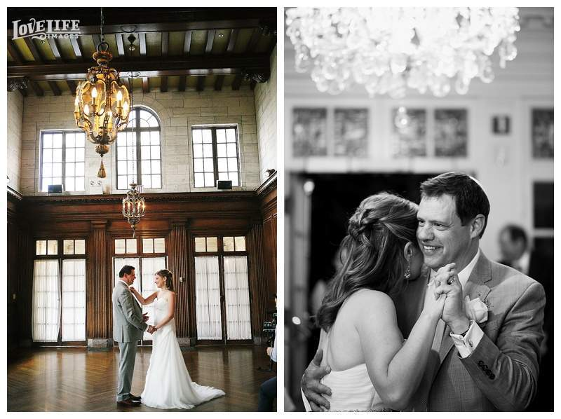 Strathmore Mansion wedding