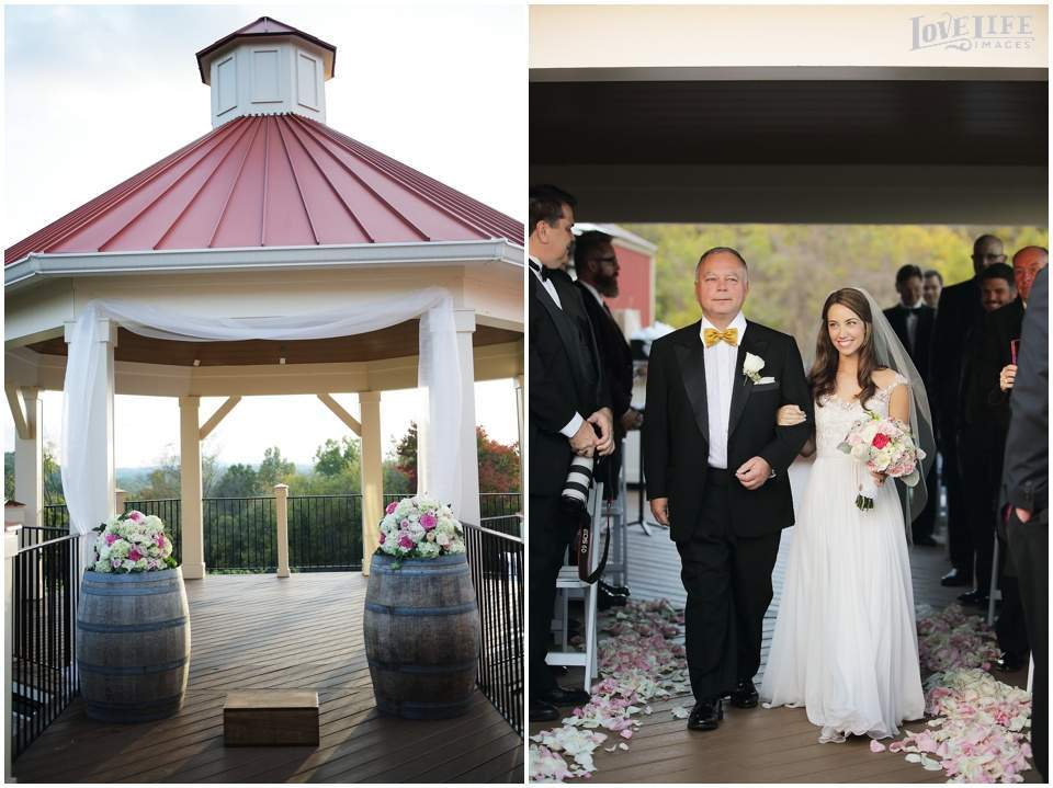 Cana Vineyards wedding