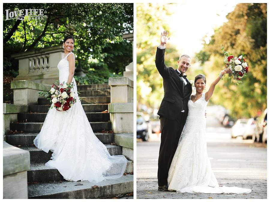 Fairfax Embassy Row DC wedding