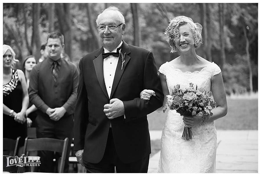 Woodend Nature Sanctuary wedding