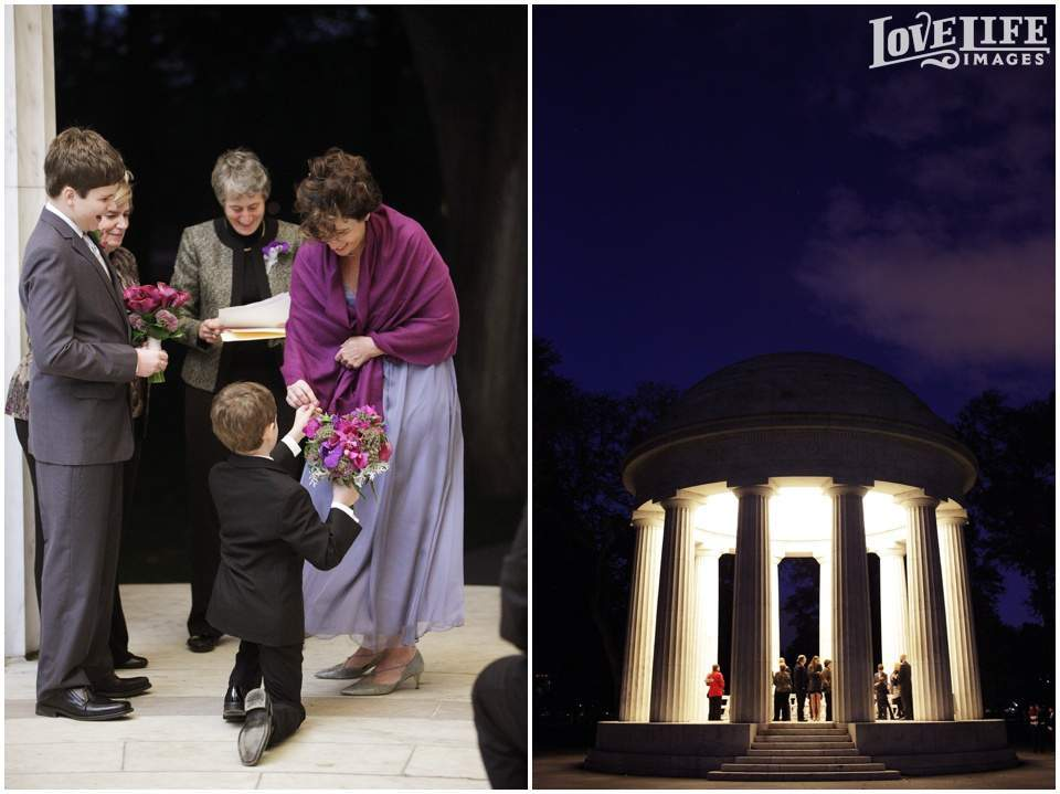 DC War Memorial same-sex wedding