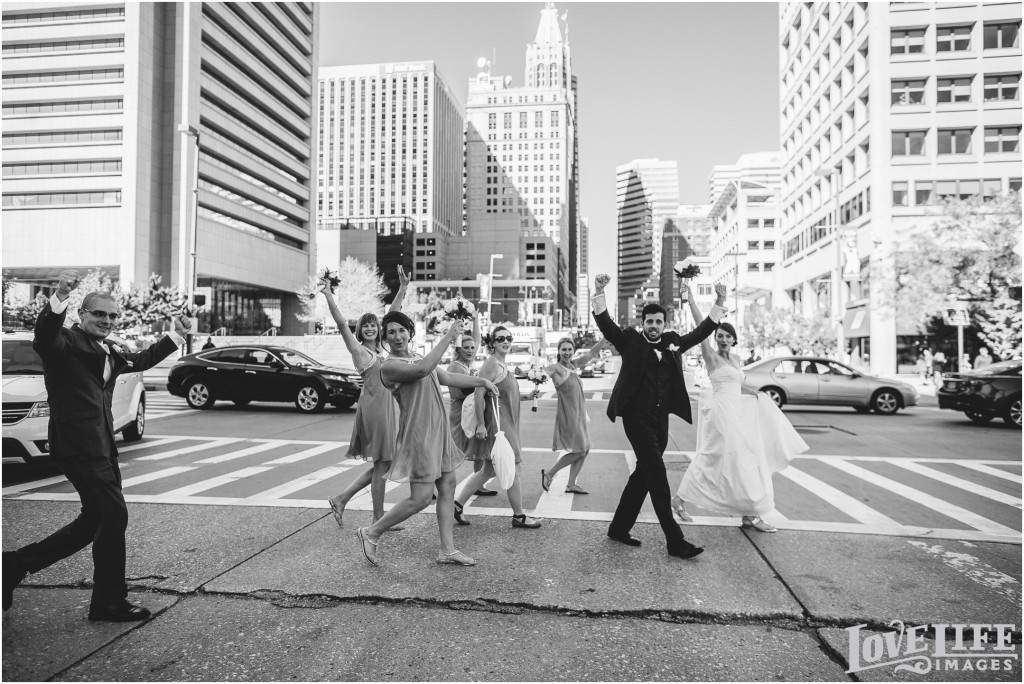 Downtown Baltimore Wedding