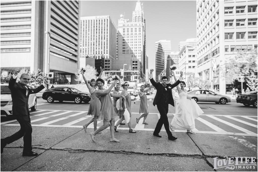 Downtown Baltimore Wedding