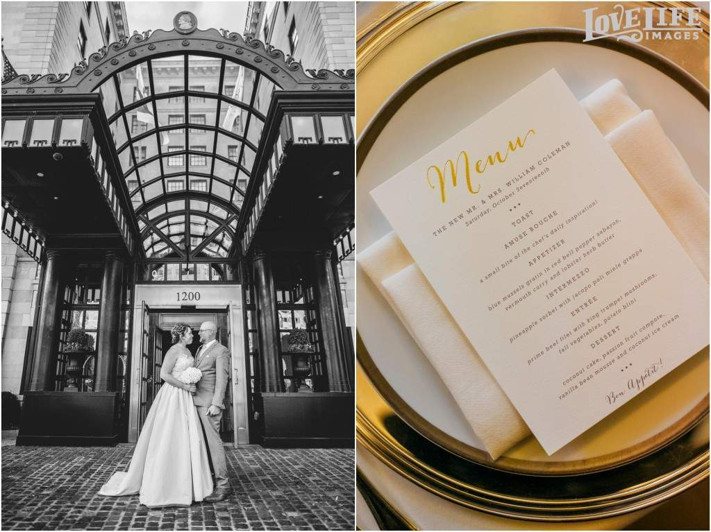 Jefferson Hotel Wedding