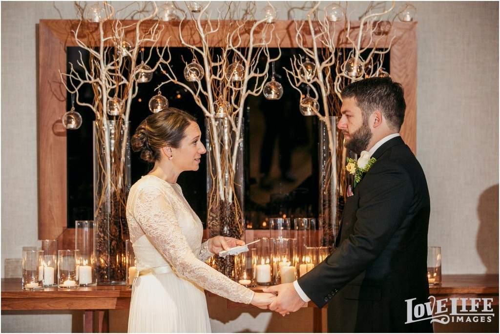 Intimate park hyatt wedding