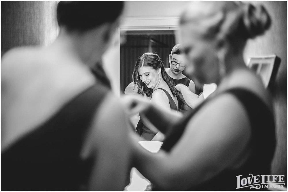 Columbia Country Club wedding photographer