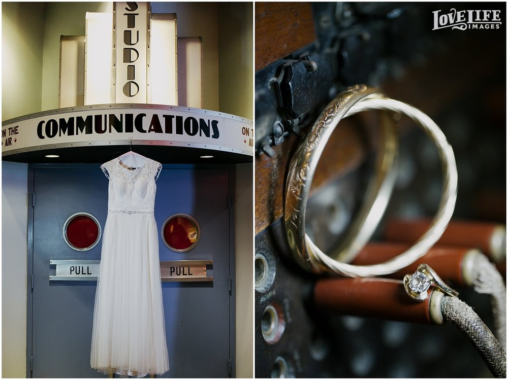Baltimore Museum of Industry wedding photographer