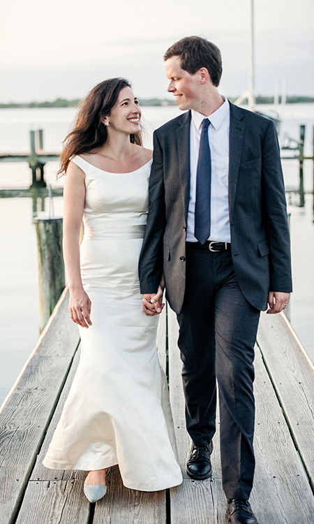 Modern Wedding on the Eastern Shore of Maryland -