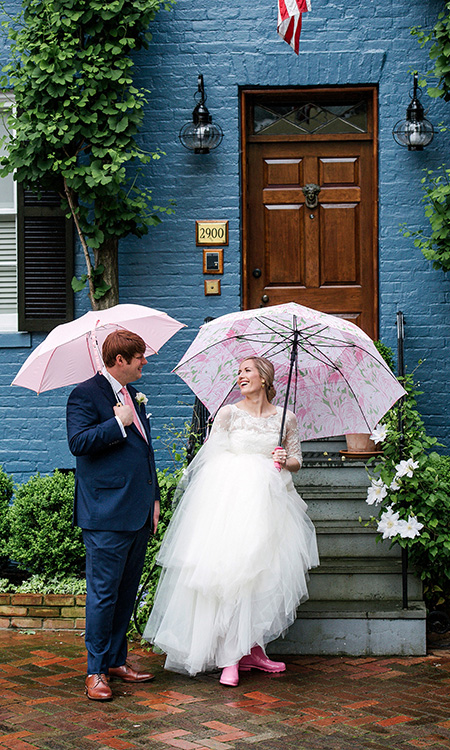 Dumbarton House Wedding in DC -