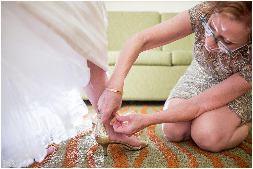 Clarendon Ballroom Wedding bride shoes.jpg