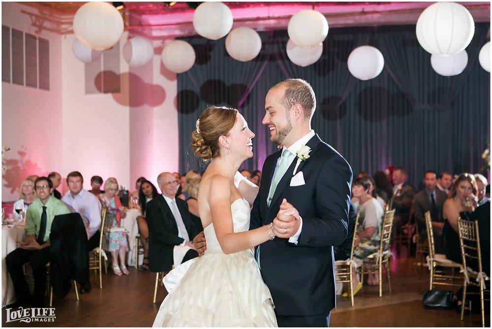Clarendon Ballroom Wedding first dance.jpg