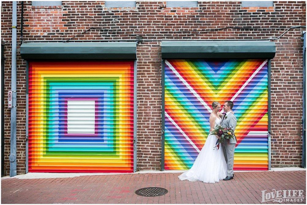 Longview Gallery DC Wedding alleyway bridal portrait.jpg