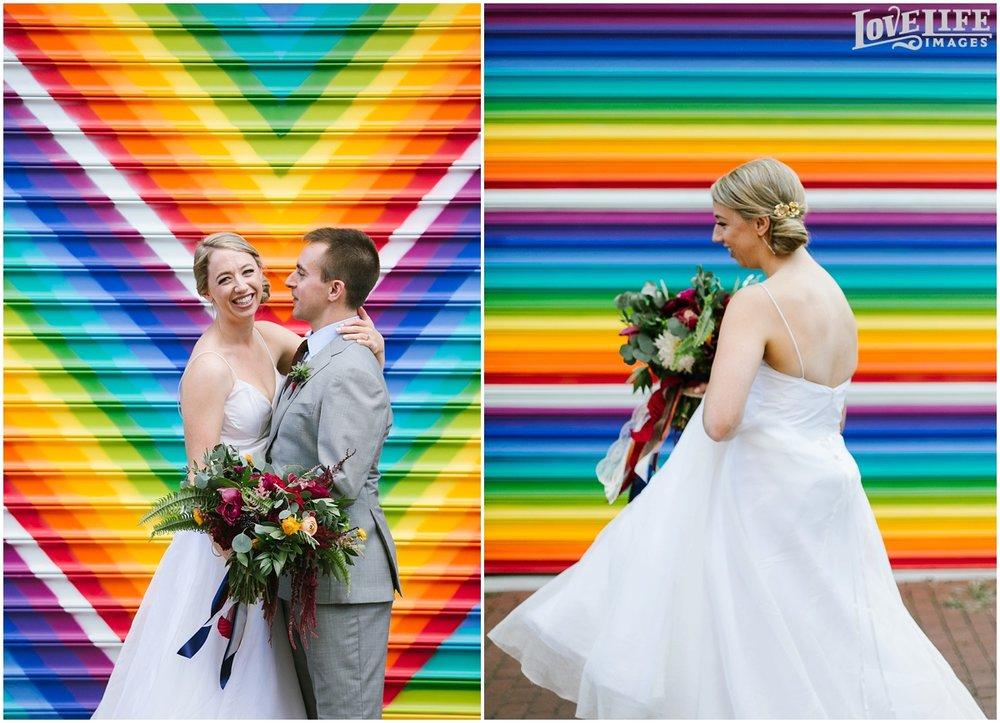 Longview Gallery DC Wedding rainbow alley portraits.jpg