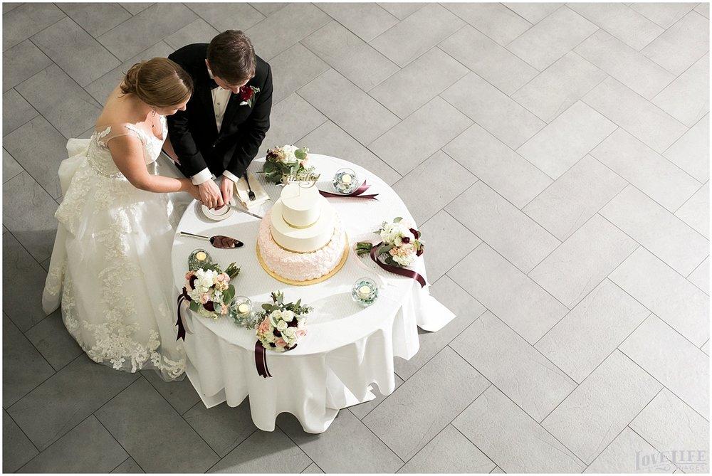 Engineer's Club Wedding cake cutting.jpg