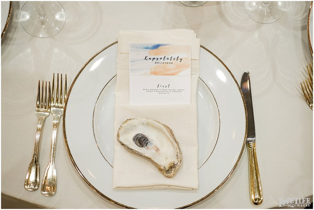 Eastern Market DC Wedding white and gold place setting.jpg