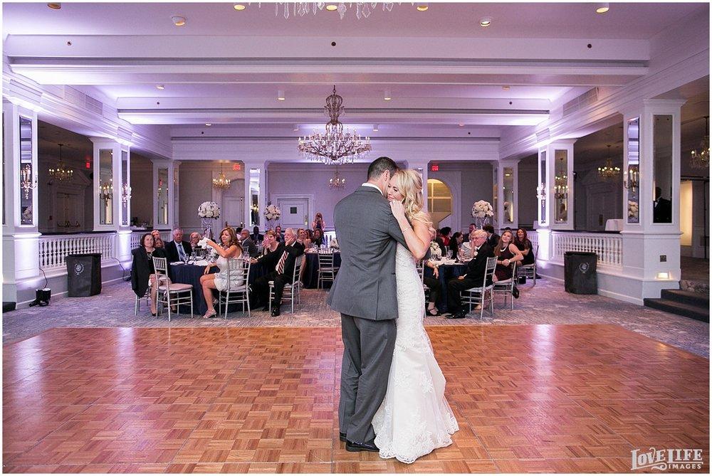 Mayflower Hotel DC Wedding bride and groom first dance.jpg