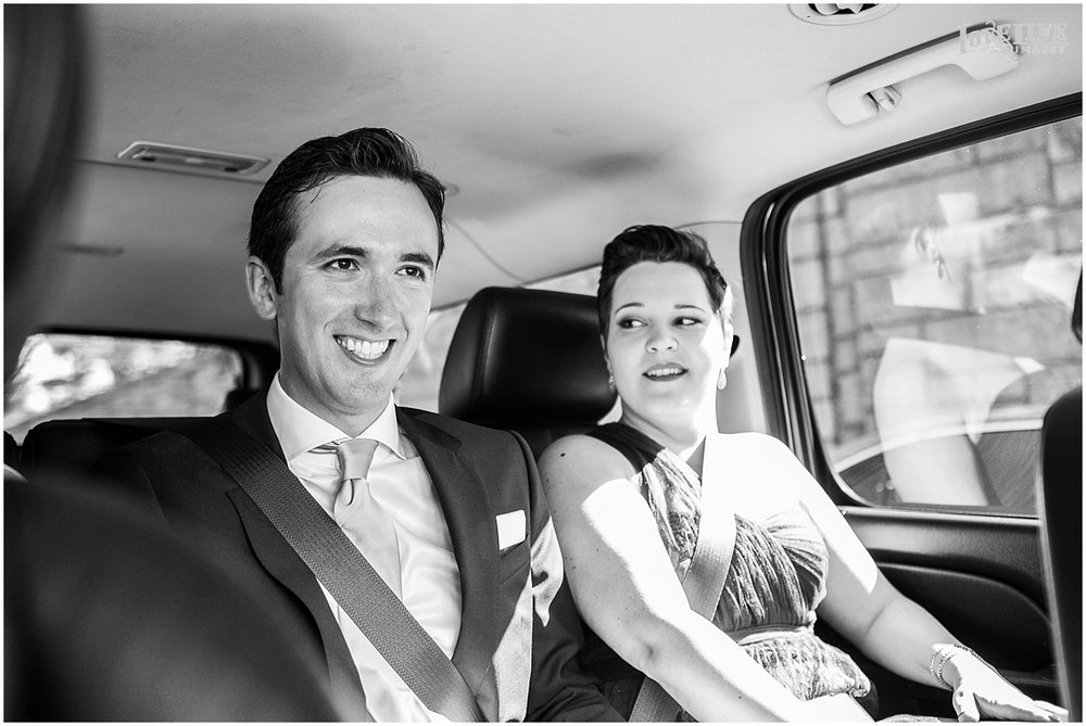 Meridian House Wedding Photo groom in a limo.JPG