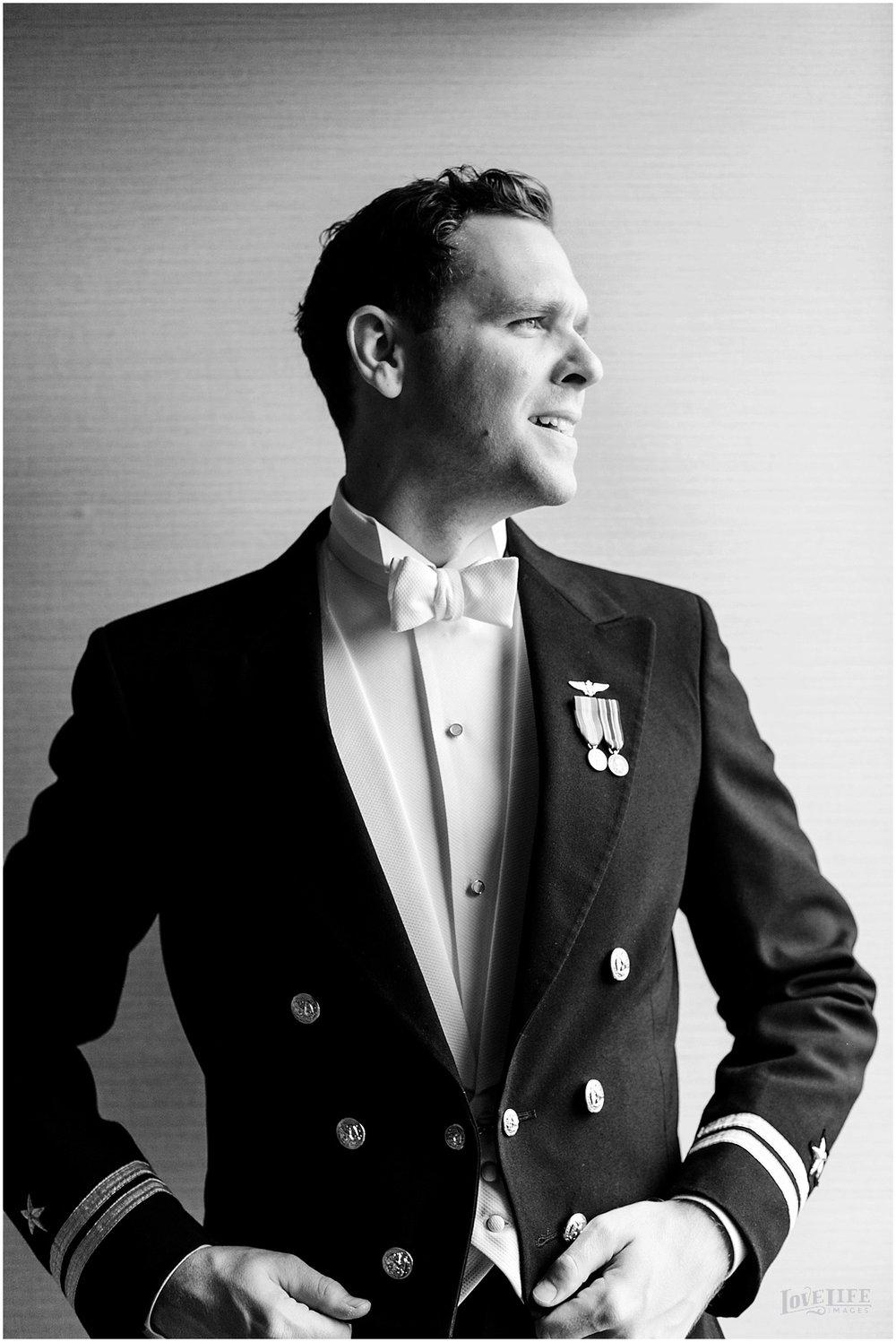 black and white groom portrait.JPG