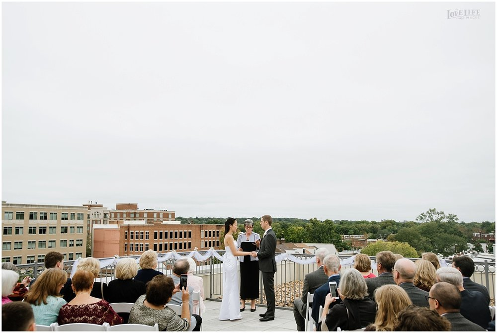 Lorien Hotel Brunch wedding rooftop ceremony.JPG