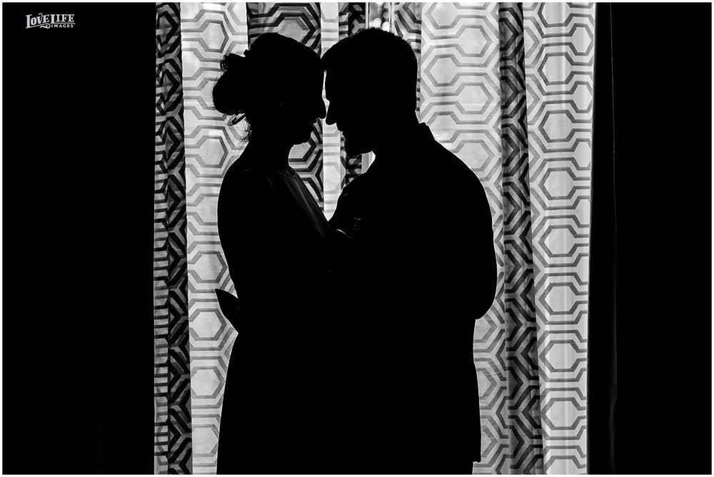 DC Hotel Monaco fall wedding silhouette portrait.JPG