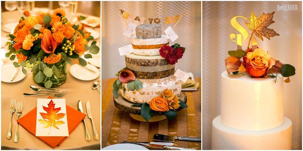 DC Hotel Monaco fall wedding cake and decor.JPG