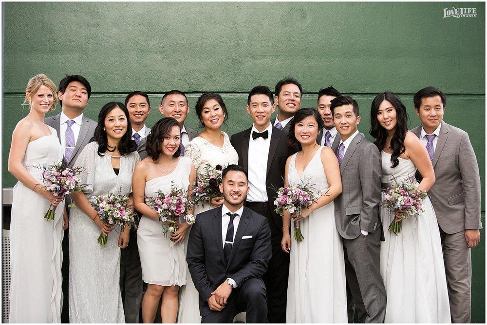National Aquarium Baltimore Wedding bridal party portrait.JPG