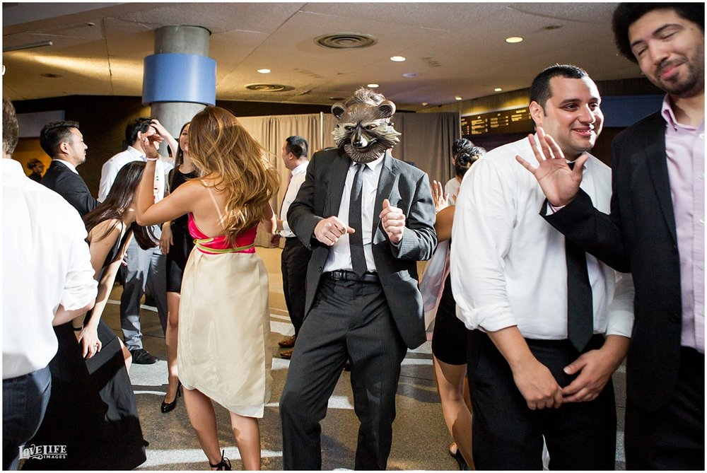 National Aquarium Baltimore Wedding reception dancing.JPG