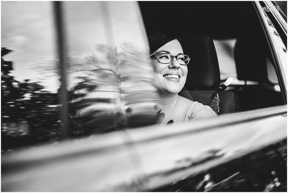 Dumbarton House wedding bride in limo.JPG